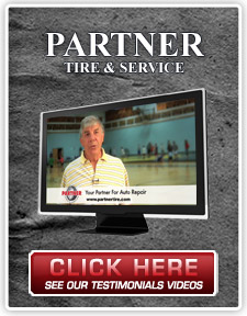 View our testimonials video at Partner Tire, Colchester VT.